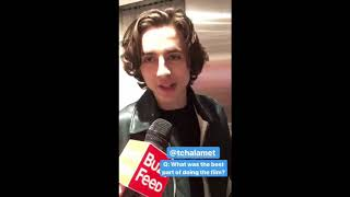 Timothée Chalamet Armie Hammer Call me by your name instagram story mix part 6 11/21-11/26/2017
