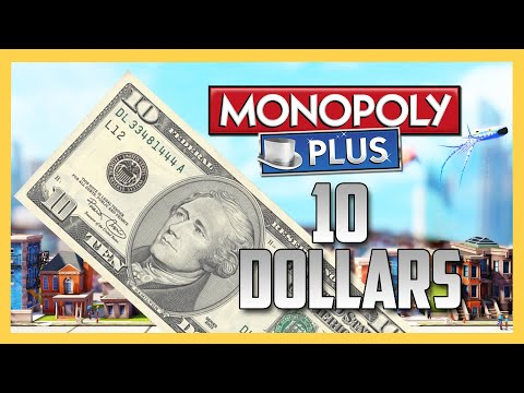Monopoly Plus - Ten Dollars