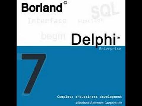Curso delphi 7- Object pascal(Aula 2) Concatenação de Palavras