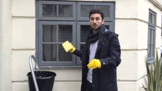 Alex Christofi cleans windows & talks GLASS