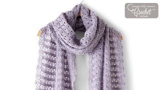 How to Crochet A Shawl: Broomstick Lace
