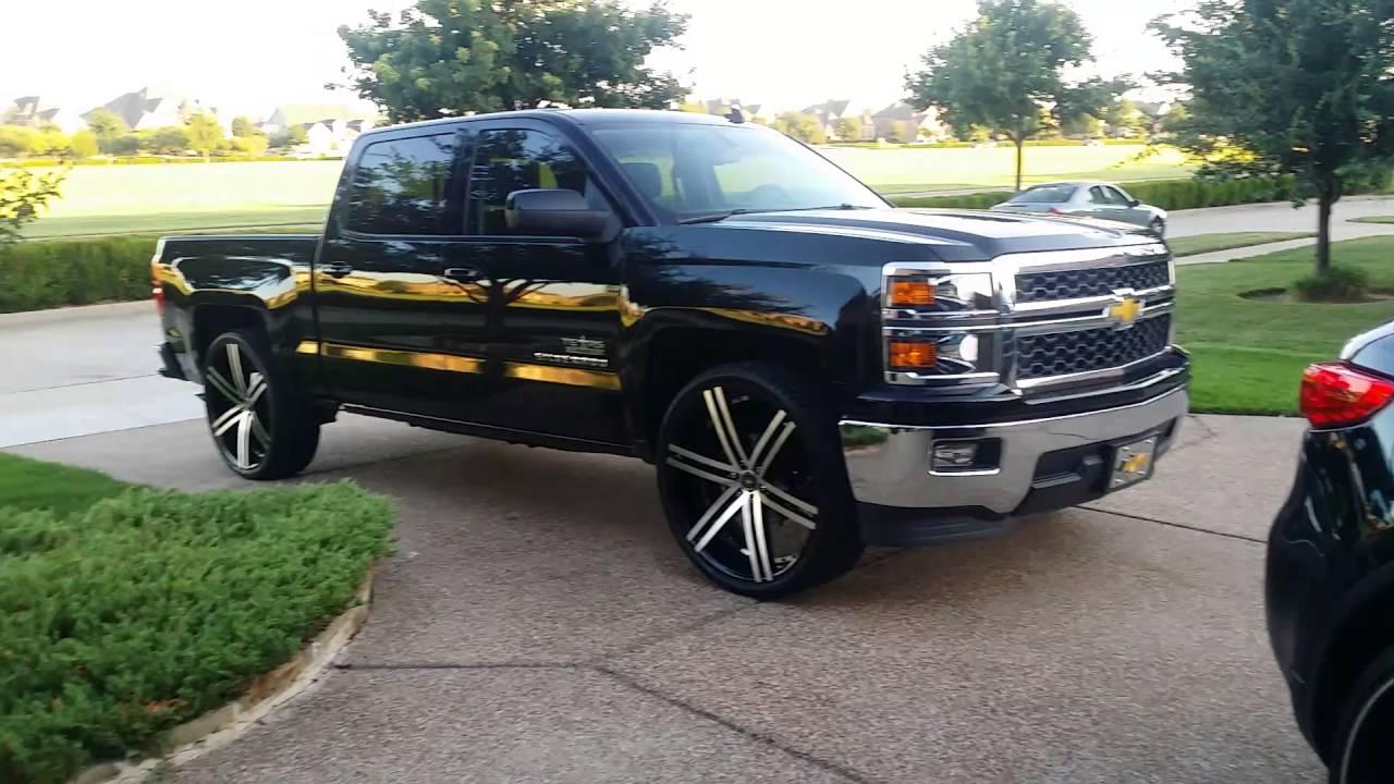 Chevrolet Silverado on 26 ' s - YouTube