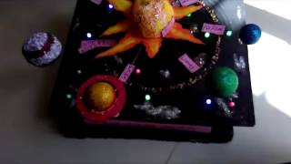 3D Solar System School Project
