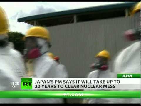 Japan says Fukushima clean-up to take 20 years