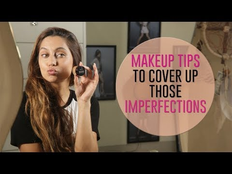 MakeUp Tips To Cover Up Imperfections | Anusha Dandekar