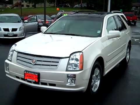 Sold 2006 Cadillac Srx Awd Diamond White Enumclaw Seattle