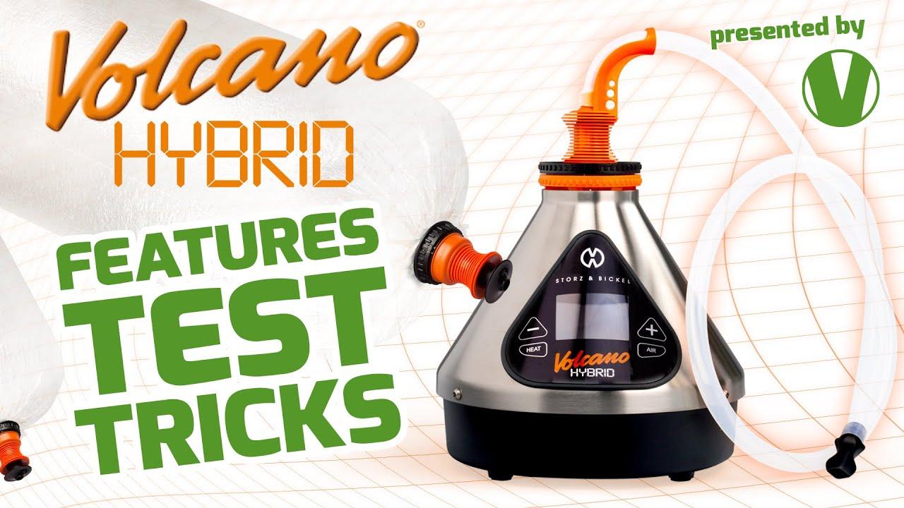 VOLCANO HYBRID | Features, Test & Tricks