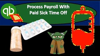 QuickBooks Online 2019-Process Payroll With Paid Sick Time Off