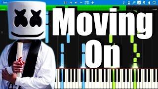 marshmello moving on synthesia piano tutorial