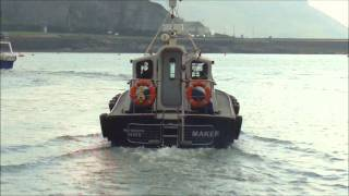 Lochin 366 Pilot Boat setting off to deliver a Pilot.wmv