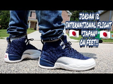 e0c43b0b8bd EARLY REVIEW!!! JORDAN 12 INTERNATIONAL FLIGHT