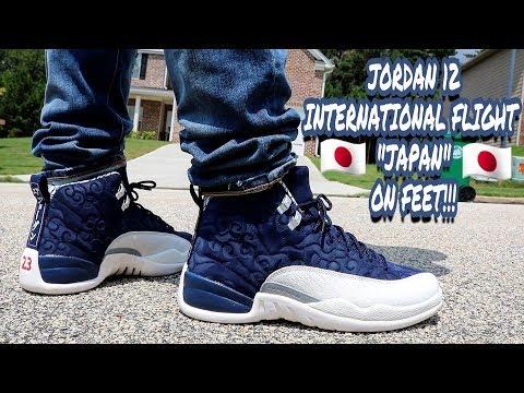 new product 33fb3 7f6bd EARLY REVIEW!!! JORDAN 12 INTERNATIONAL FLIGHT