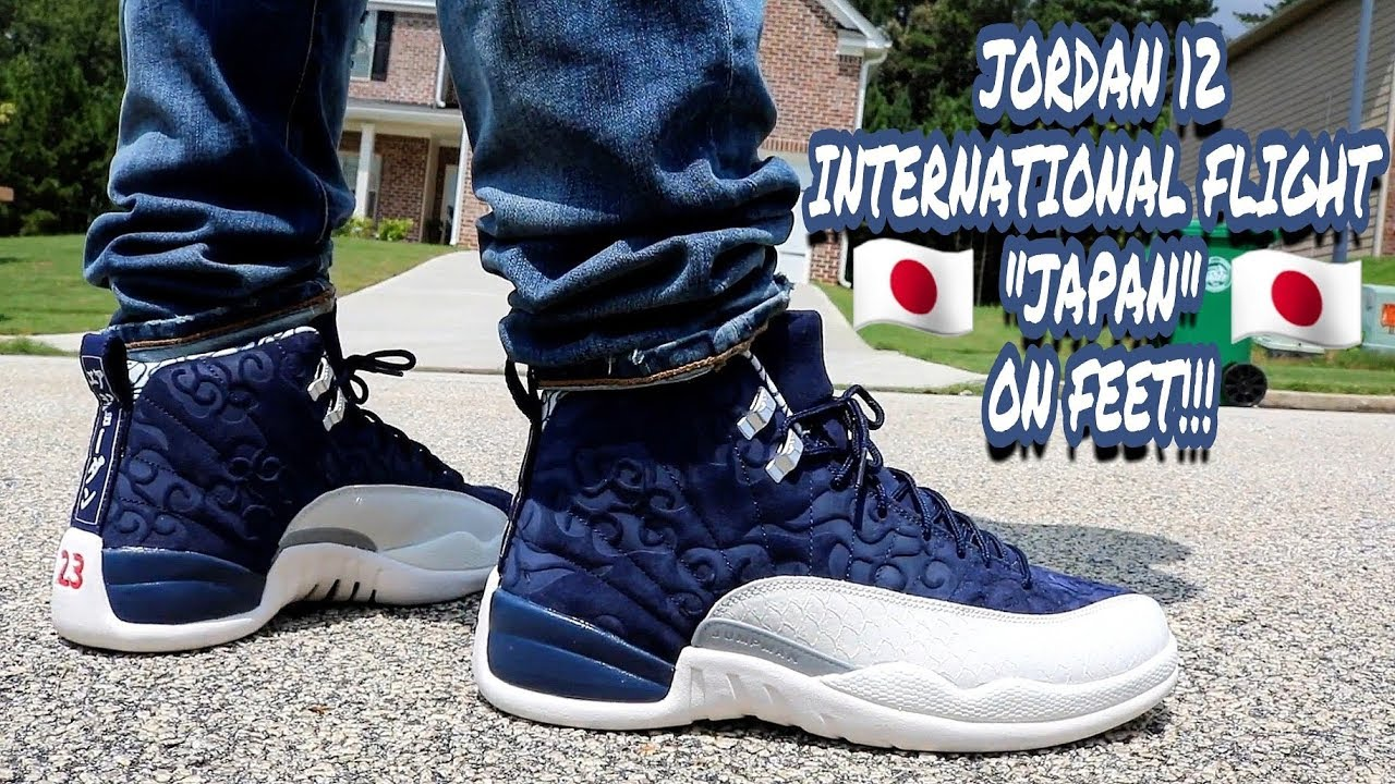 7153ac5cb2b EARLY REVIEW!!! JORDAN 12 INTERNATIONAL FLIGHT