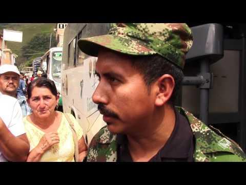 DESPEDIDA DEL 60 FRENTE JAIME PARDO LEAL DE LAS FARC - EP ARGELIA CAUCA