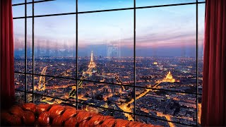 Jazz Bar in Paris (Jazz Piano) - 3D Ambient Sounds, ASMR for Studying, Relaxing, Sleeping