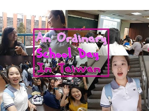 A School Day in Taiwan(University Life)-Janet vlog