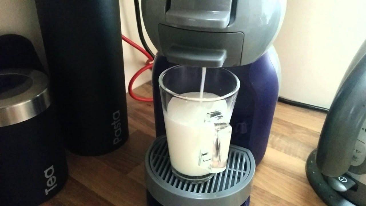 dolce gusto mini me purple tea latte youtube. Black Bedroom Furniture Sets. Home Design Ideas