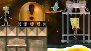 New Super Mario Bros. Wii - Squidward wants to rescue Spongebob
