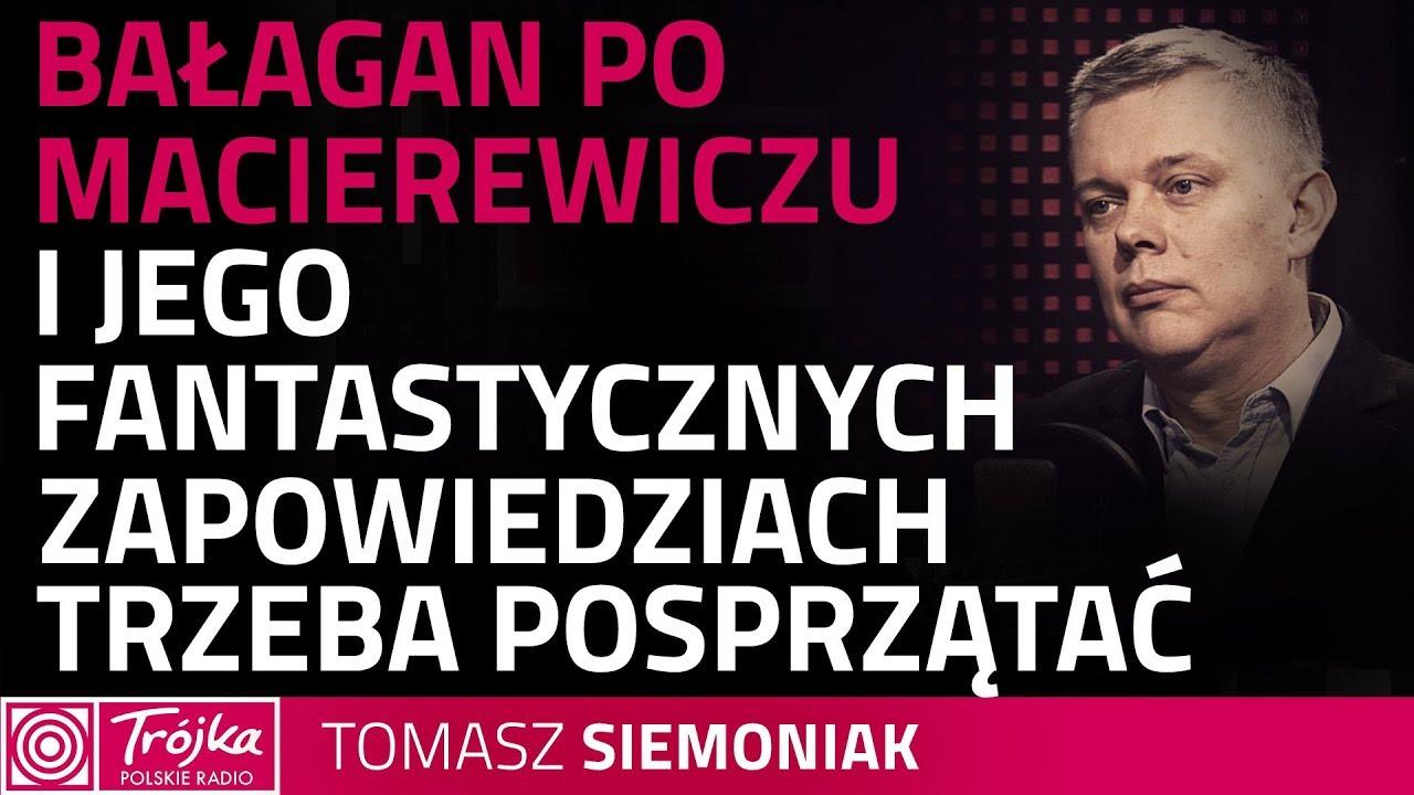 Tomasz Siemoniak: jest wiele zaległych tematów w relacjach Polska – USA