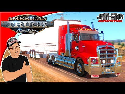 American Truck Simulator Mods Kenworth T609 B Double New Mexico