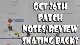 NHL 19 New Tuner: Better Skating?? (Oct 26th Notes/Review(