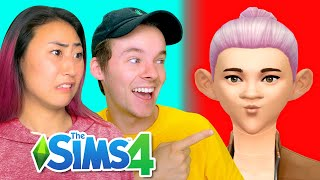 WE RECREATED EACH OTHER ON SIMS!!! (WITH RYAN PRUNTY)