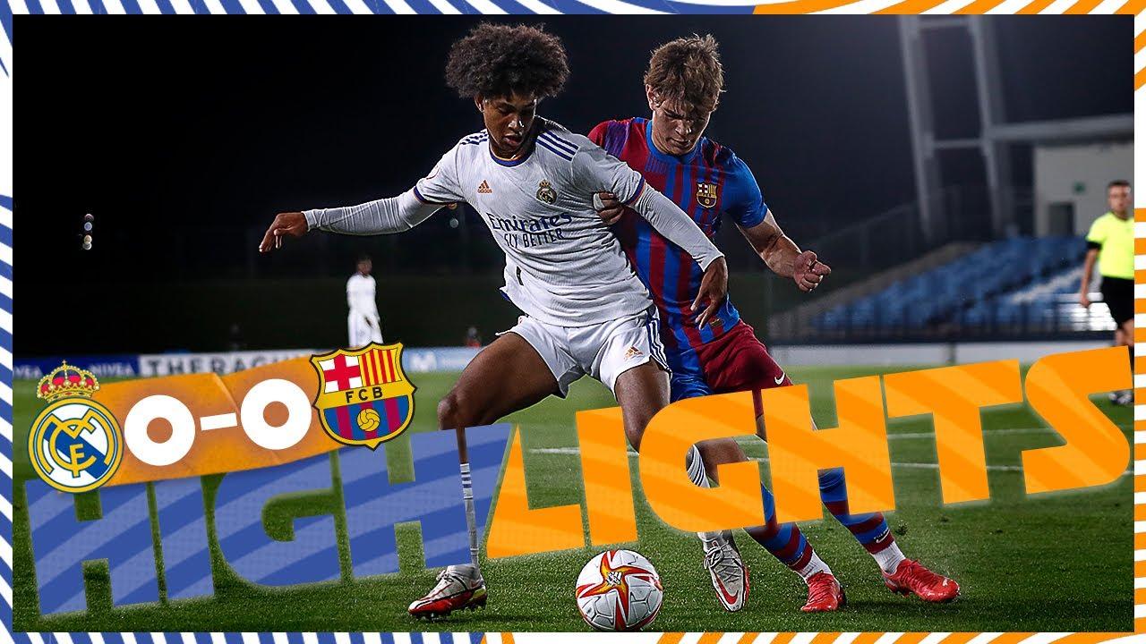 HIGHLIGHTS | Real Madrid Castilla 0-0 Barcelona B | Primera RFEF