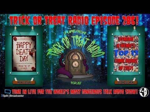 Trick or Treat Radio Episode 286 - Happy Death Day Film Discussion