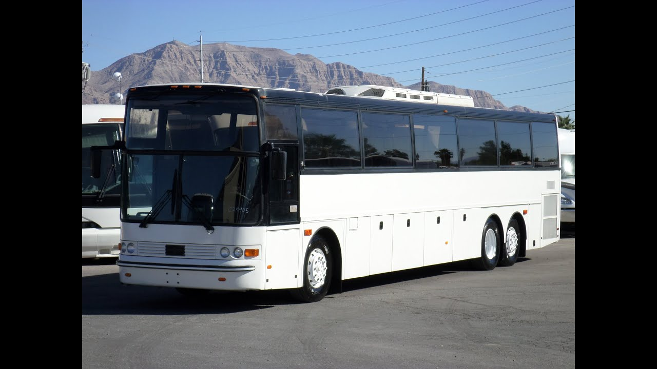 Limo For Sale >> Used Bus For Sale - 1998 Van Hool T945 For 57 Passengers C29905 - YouTube