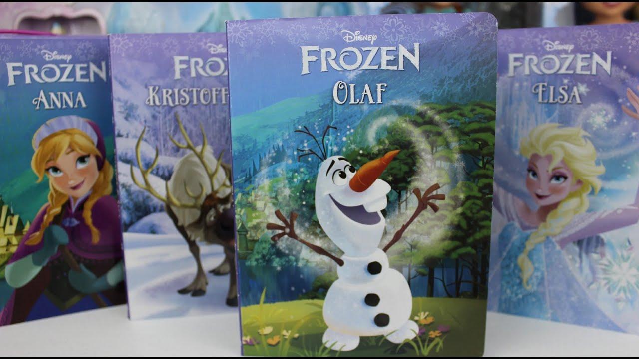 Disney FROZEN Libros De La Pelicula Frozen Libro De Olaf