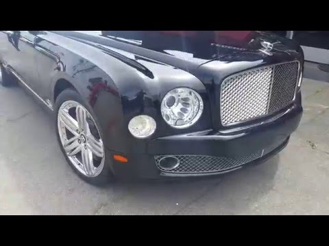 Bentley Mulsanne for Rent Los Angeles