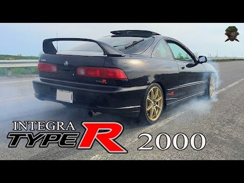 Etonnant Honda Integra Type R Spec 2000 | ITR Street Drag Racing U0026 Time Attack