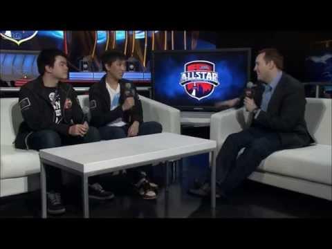 Doublelift Interview Calls Everyone Trash (AllStars 2013)