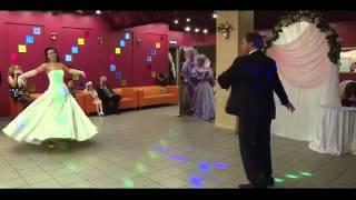 Очень красивый свадебный танец  'Первый танец молодых'