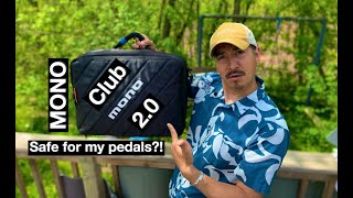 MONO Club 2.0 - Pedalboard Accessory Case - Small pedal board? Protect your valuable pedals!