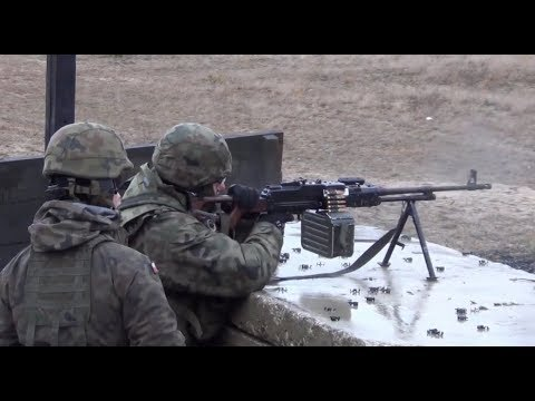SJS3006 - Szkolenie Ogniowe Beryl, UKM-2000 W 10 Brygada Kawalerii Pancernej W Świętoszowie