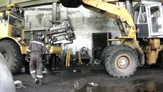 Установка двигателя ЯМЗ-238ДЕ2 (7511) на трактор К-700А. Часть 2.  Установка 4-х рядного радиатора.