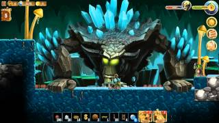 Craft The World - Part 109 - The Land of Dangerous Caves - Super Boss Monster