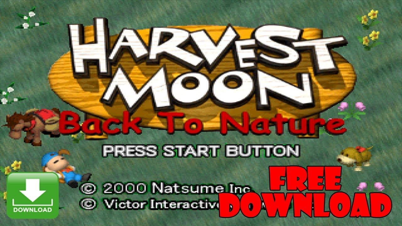 Harvest Moon Back To Nature - PC Game Free Download
