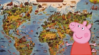 Свинка Пеппа на уроке географии