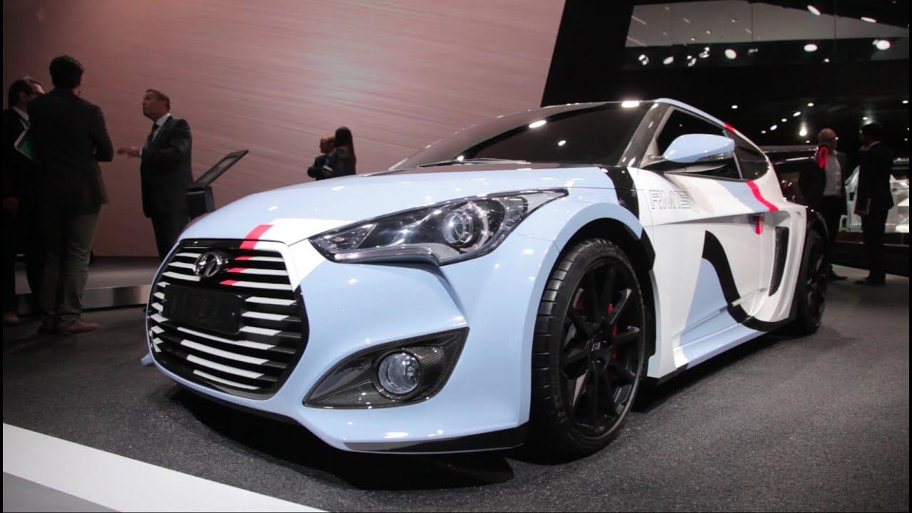 Unique Hyundai RM15 Racing Midship 2015 Concept  2015