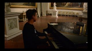 Alan Walker - The Spectre - Piano cover - at the National Museum of Capodimonte Naples