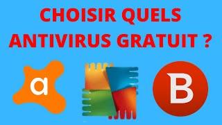 Quels antivirus gratuit choisir pour 2018 ?