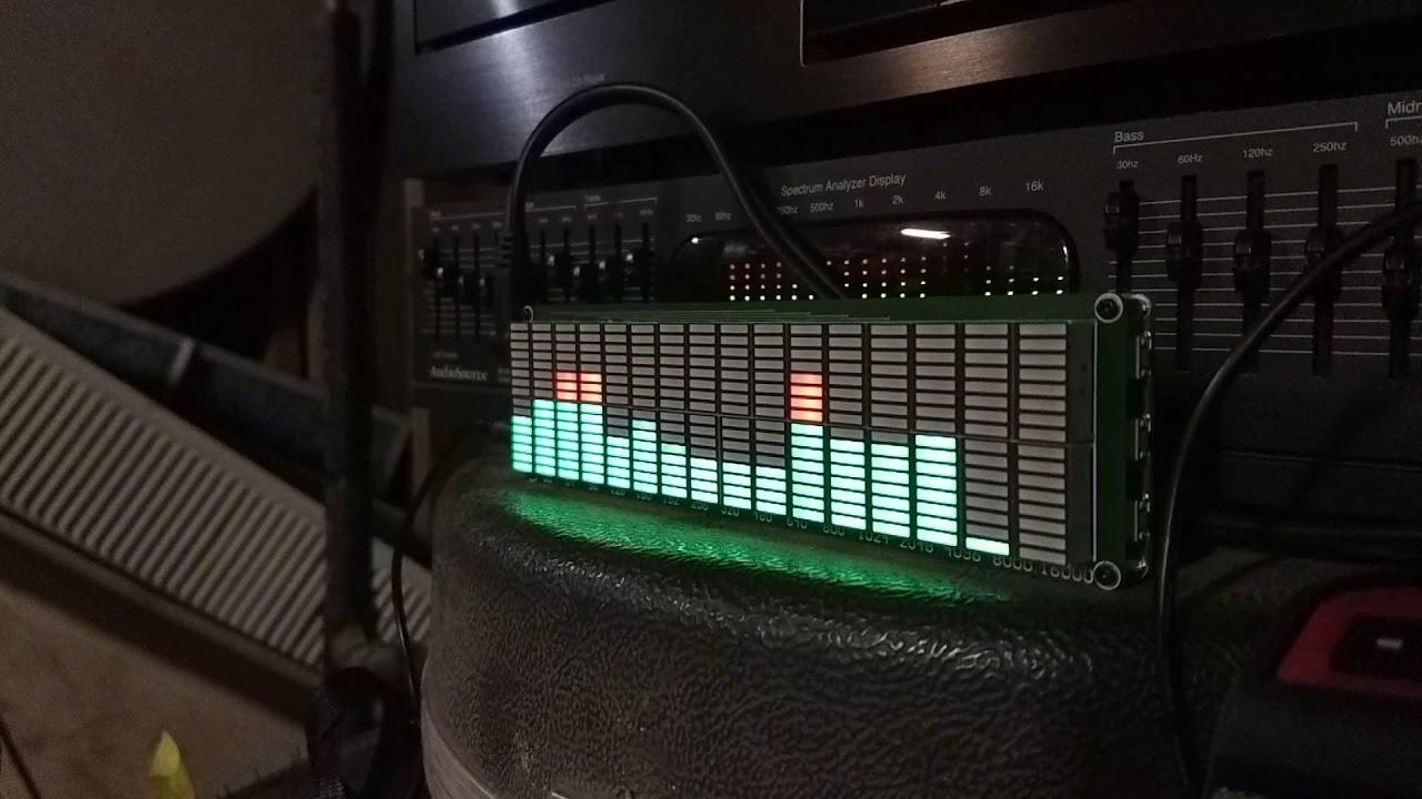 AK Tech 16x16 Audio Spectrum Analyzer