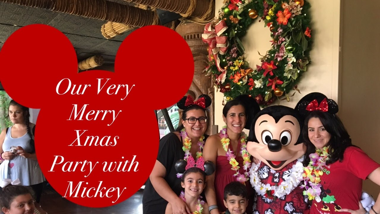 Mickeys Very Merry Xmas Party
