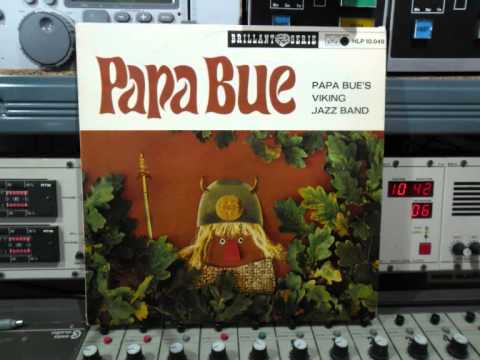 Papa Bue's  Viking Jazz Band Lp Papa Bue Remasterd By B.v.d.M 2014