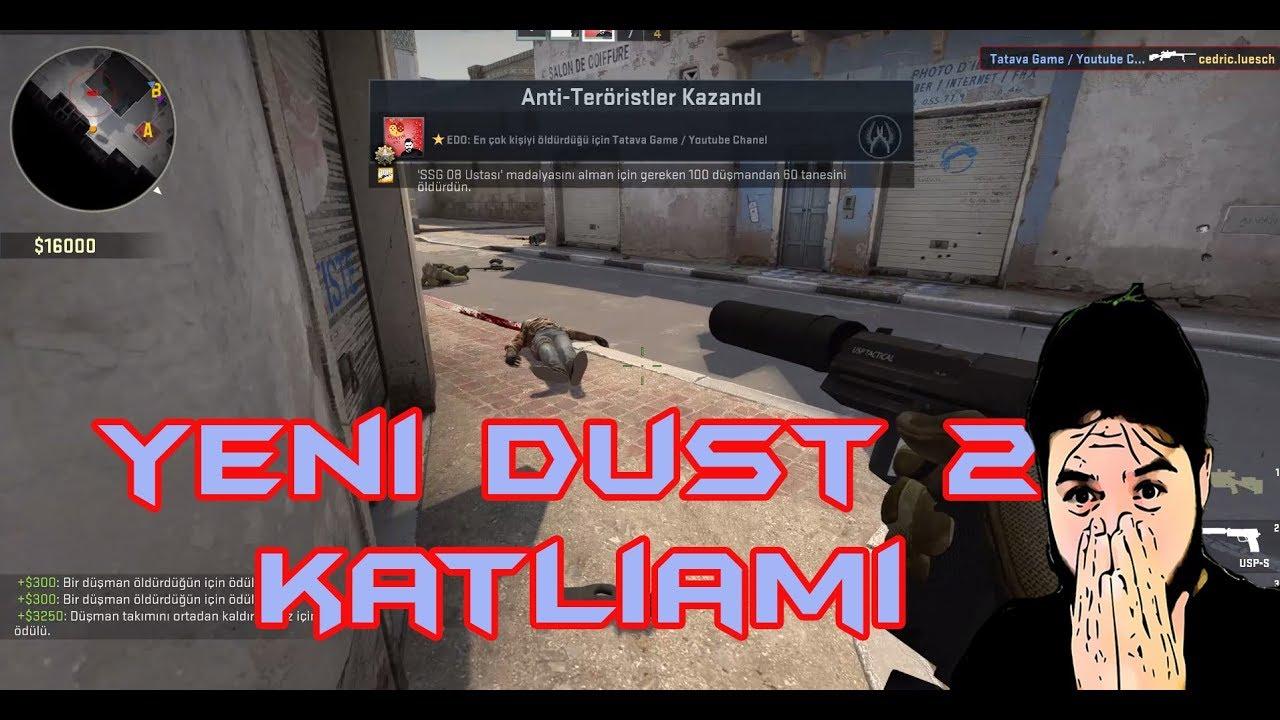 Yeni Dust 2 'de İlk Rekabetçi | Cs Go Hile Olmadan Katliam #1