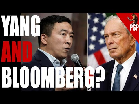 No, Andrew Yang Is NOT Trying To Work For Mike Bloomberg