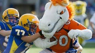 NFL Mascots vs. Kids! (FUNNY)