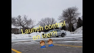 This was Dumb!    Trying to Launch on ICE!!